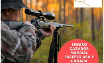 SEGURO DE CAZADOR MUNDO EXCEPTO USA Y CANADA